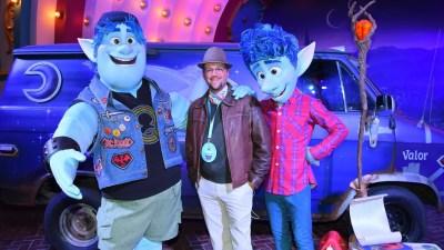 Disneyland After Dark: Pixar Nite - Onward Photo Op