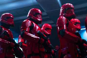 Sith troopers in STAR WARS: THE RISE OF SKYWALKER.
