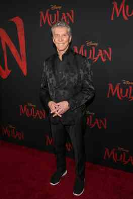 HOLLYWOOD, CALIFORNIA - MARCH 09: Michael Buffer attends the World Premiere of Disney's 'MULAN' at the Dolby Theatre on March 09, 2020 in Hollywood, California. (Photo by Jesse Grant/Getty Images for Disney)