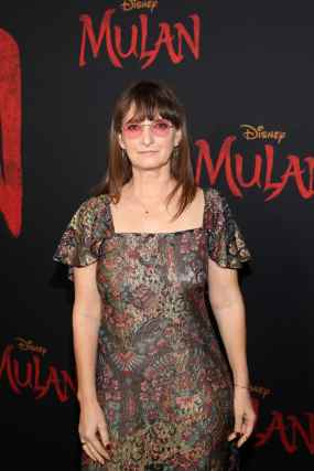 HOLLYWOOD, CALIFORNIA - MARCH 09: Costume designer Bina Daigeler attends the World Premiere of Disney's 'MULAN' at the Dolby Theatre on March 09, 2020 in Hollywood, California. (Photo by Jesse Grant/Getty Images for Disney)