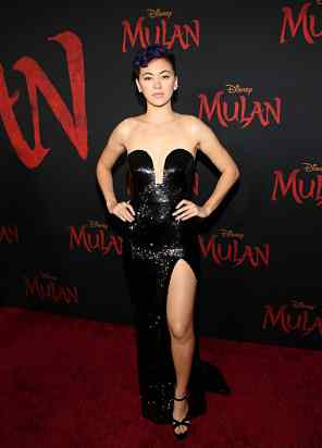 HOLLYWOOD, CALIFORNIA - MARCH 09: Jessica Henwick attends the World Premiere of Disney's 'MULAN' at the Dolby Theatre on March 09, 2020 in Hollywood, California. (Photo by Jesse Grant/Getty Images for Disney)