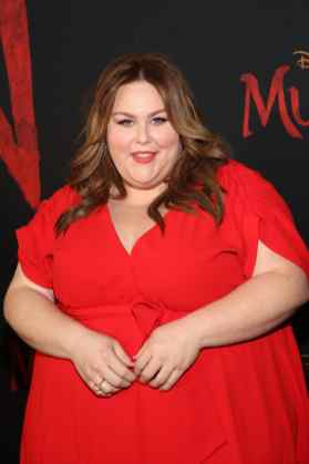 HOLLYWOOD, CALIFORNIA - MARCH 09: Chrissy Metz attends the World Premiere of Disney's 'MULAN' at the Dolby Theatre on March 09, 2020 in Hollywood, California. (Photo by Jesse Grant/Getty Images for Disney)