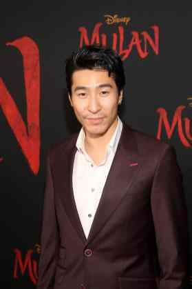 HOLLYWOOD, CALIFORNIA - MARCH 09: Chris Pang attends the World Premiere of Disney's 'MULAN' at the Dolby Theatre on March 09, 2020 in Hollywood, California. (Photo by Jesse Grant/Getty Images for Disney)