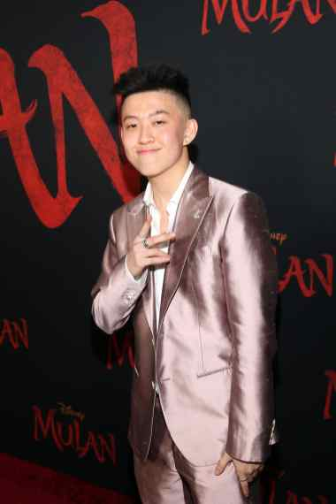 HOLLYWOOD, CALIFORNIA - MARCH 09: Rich Brian attends the World Premiere of Disney's 'MULAN' at the Dolby Theatre on March 09, 2020 in Hollywood, California. (Photo by Jesse Grant/Getty Images for Disney)