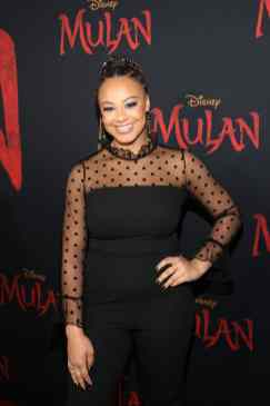 HOLLYWOOD, CALIFORNIA - MARCH 09: Nia Sioux attends the World Premiere of Disney's 'MULAN' at the Dolby Theatre on March 09, 2020 in Hollywood, California. (Photo by Jesse Grant/Getty Images for Disney)