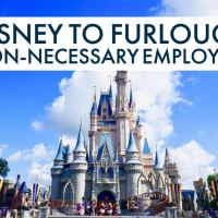 Disney to Furlough Non-Necessary Employees Starting April 19