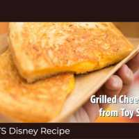Grilled Cheese Sandwich from Toy Story Land - GEEK EATS Disney Recipe