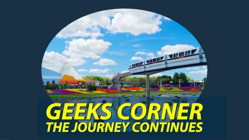 The Journey Continues - GEEKS CORNER - Episode 1030 (#501)