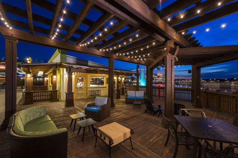 The perfect spot for guests to relax and unwind, Dockside Margaritas is a waterfront margarita bar offering live entertainment daily in a laid-back environment amid tropical decor at Downtown Disney Marketplace serving a variety of handcrafted margaritas, specialty cocktails and authentic Florida brews. The extensive, adult-beverage menu includes Sunset Margaritas, Orange Grove Rum Runners and Sugar Cane Mojitos. Downtown Disney is located at Walt Disney World Resort in Lake Buena Vista, Fla. (Matt Stroshane, photographer)
