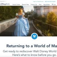Returning to Walt Disney World - Know Before You Go