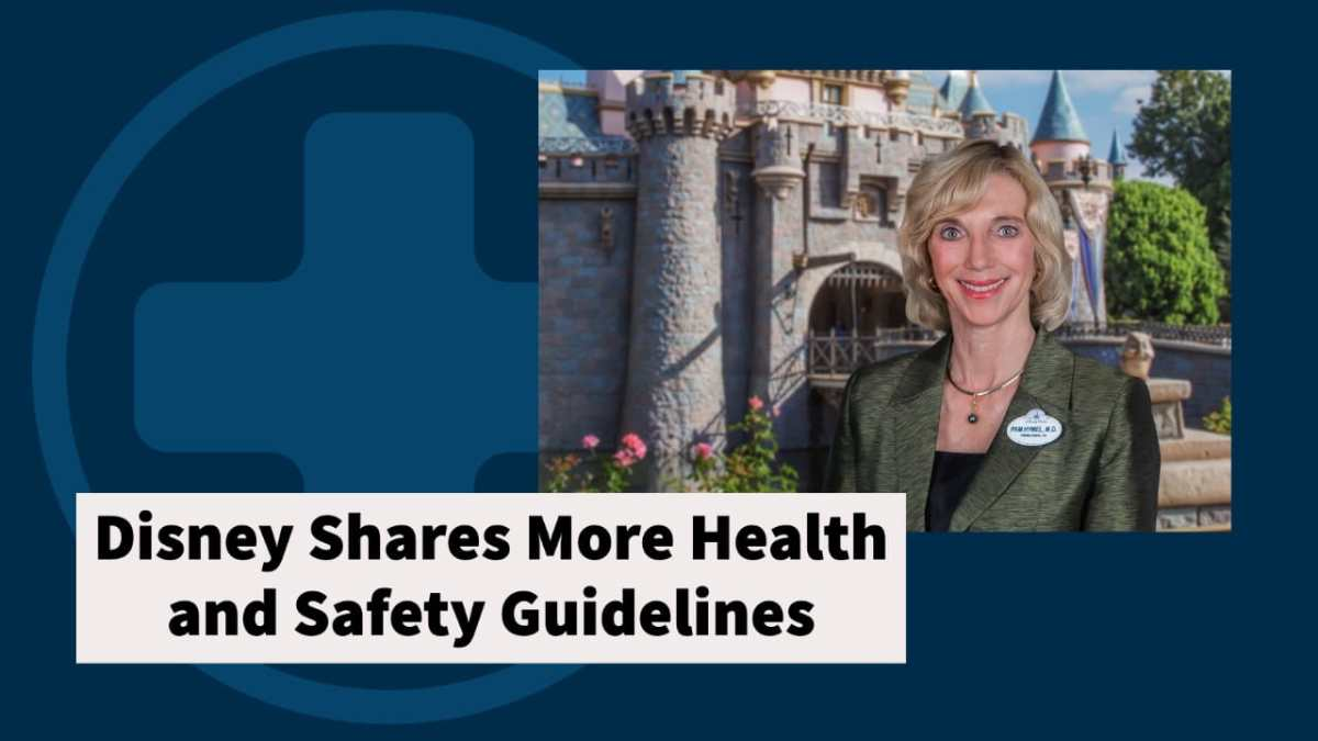 Disney Shares More Health and Safety Guidelines