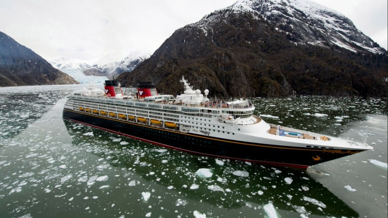 Disney Wonder in Alaska!