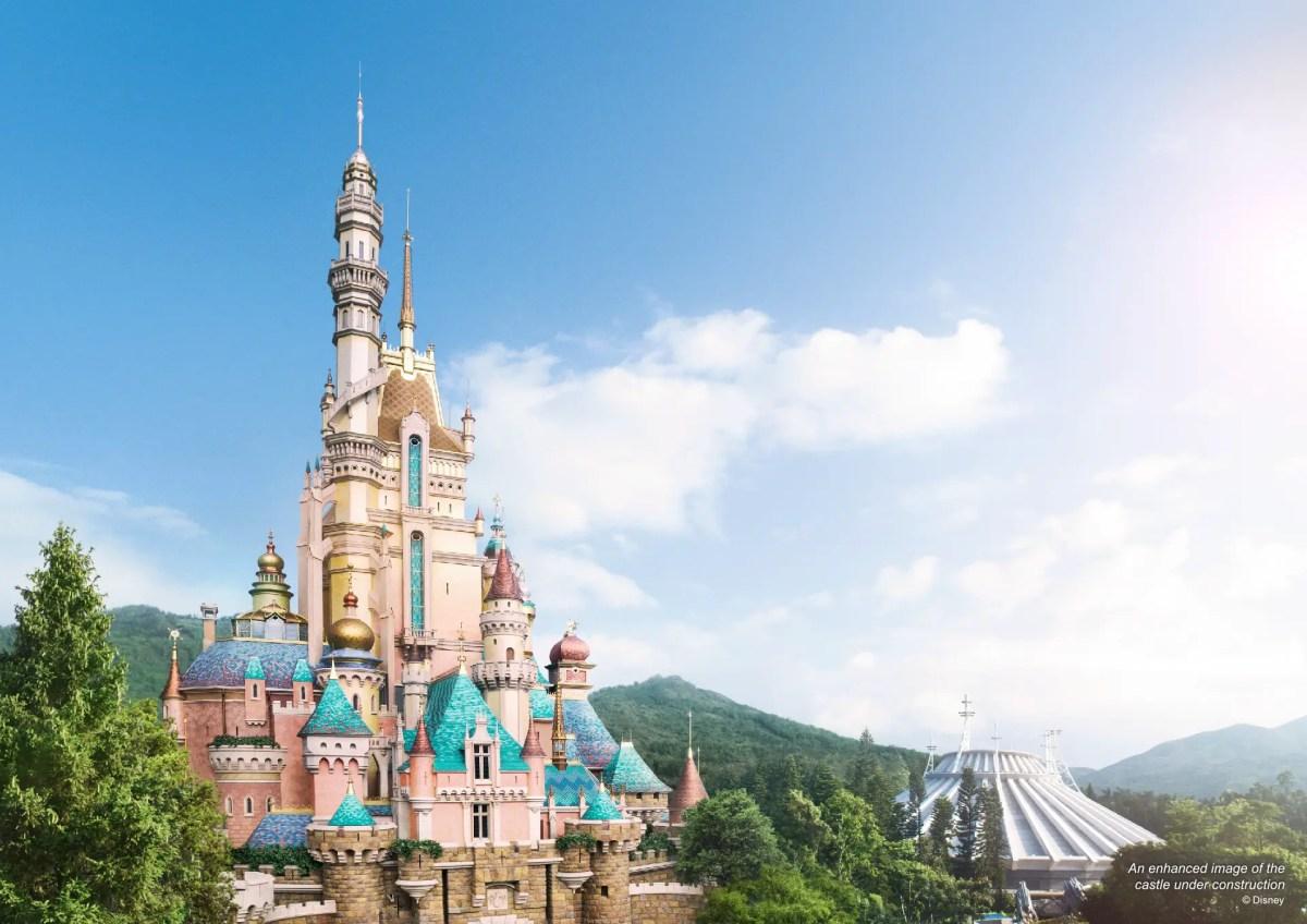 Hong Kong Disneyland - Castle of Magical Dream