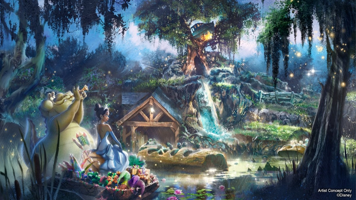 Princess and the Frog Attraction Concept Art