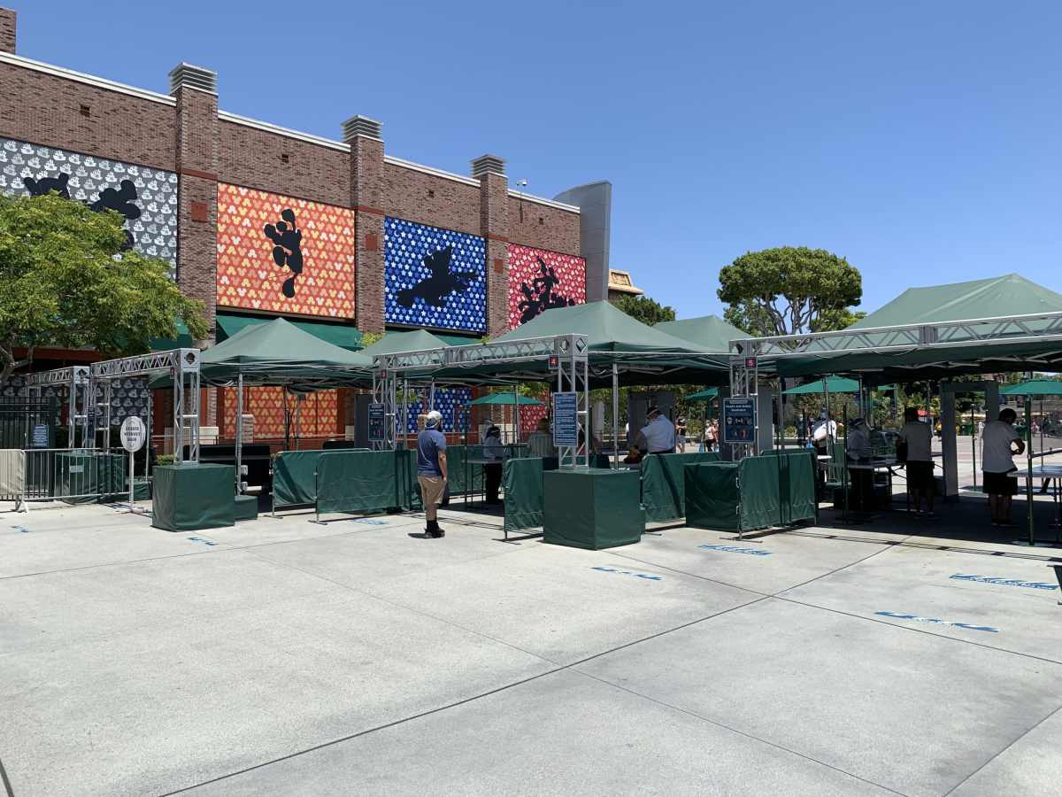 Downtown Disney District Security Checkpoint