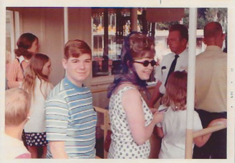 "At 13 I was trying to maintain my ""cool"" as I waited patiently in line behind my mother at the Disneyland main entrance."