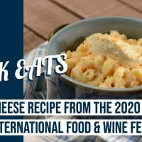 Mac & Cheese from the 2020 Taste of EPCOT International Food & Wine Festival - GEEK EATS Disney Recipe