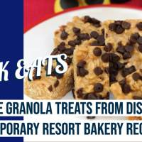 No-Bake Granola Treats from Disney's Contemporary Resort Bakery - GEEK EATS Disney Recipe