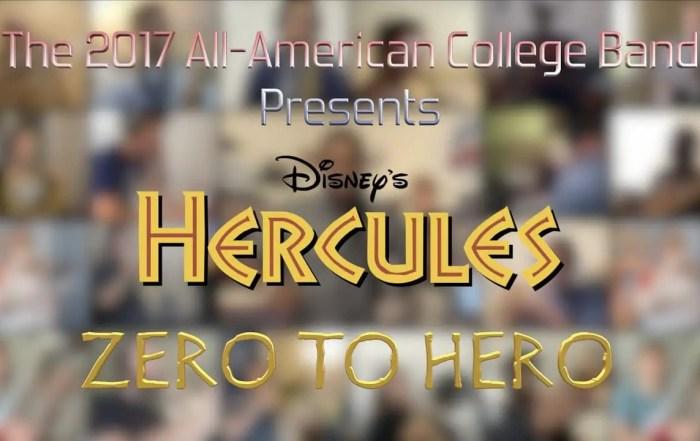Zero to Hero - 2017 Disneyland Resort All-American College Band