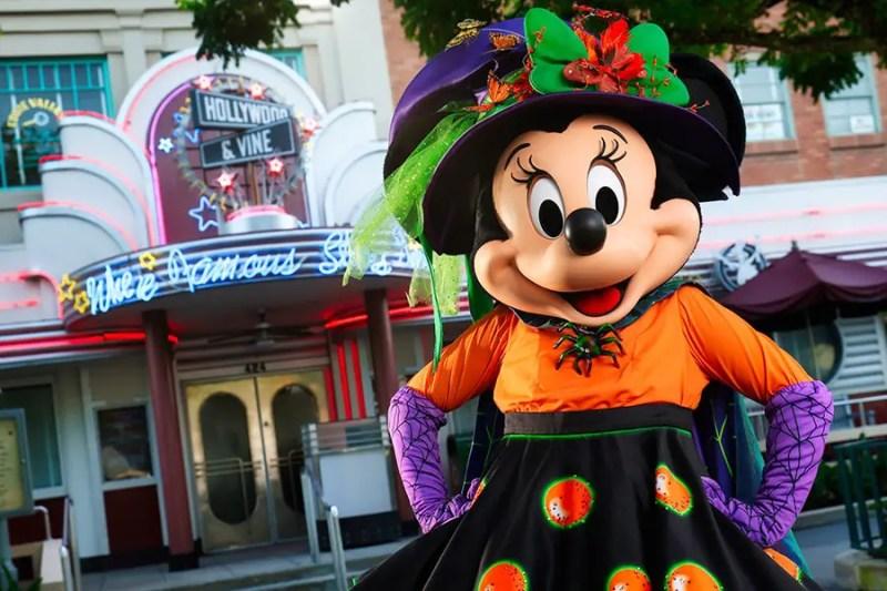 Halloween Entertainment at Walt Disney World Resort - Minnie Mouse