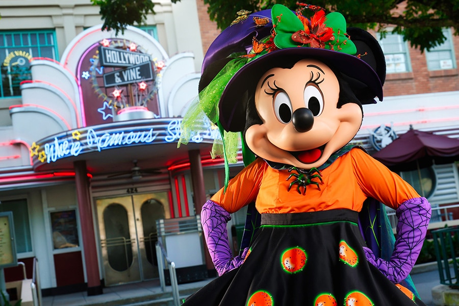 Halloween Entertainment at Walt Disney World Resort - Minnie Mouse