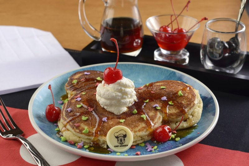 "Mickey's ""Celebration"" Pancake"