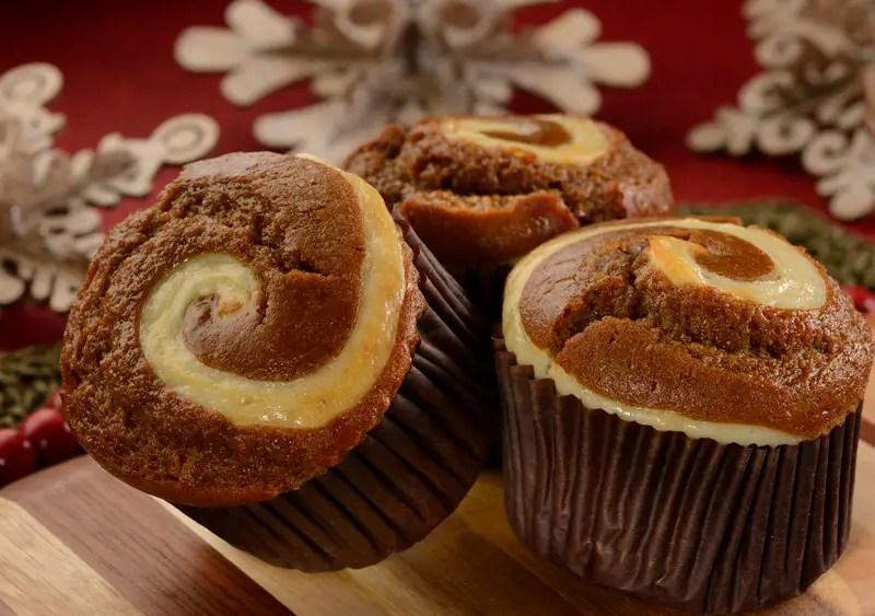 Gingerbread-Cream Cheese Muffin - GEEK EATS Disney Recipe