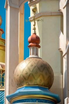 Castle of Magical Dreams Towers Hong Kong Disneyland-5