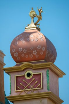 Castle of Magical Dreams Towers Hong Kong Disneyland-6