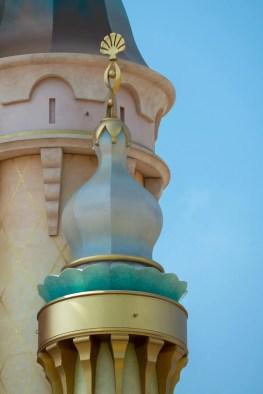 Castle of Magical Dreams Towers Hong Kong Disneyland-8