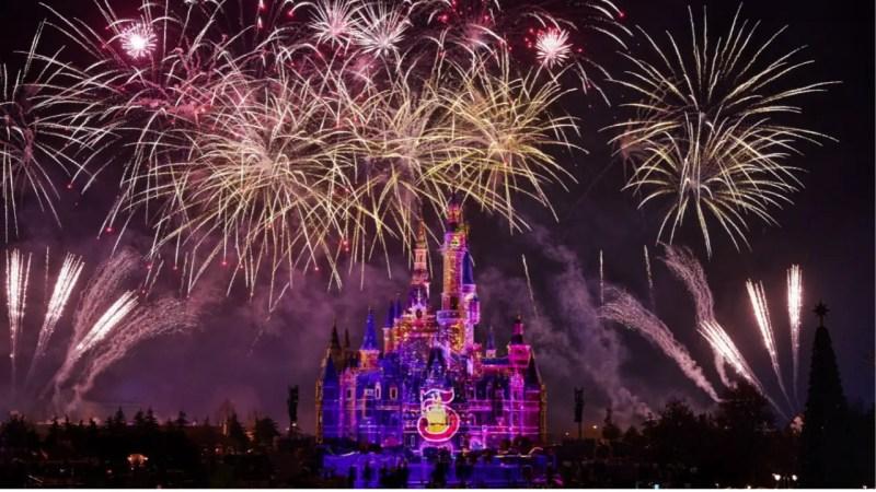 Shanghai Disneyland's Fifth Anniversary Logo - Featured Image