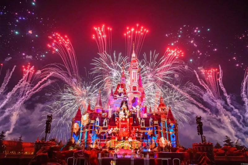 Shanghai Disney Resort - Ignite the New Year Fireworks