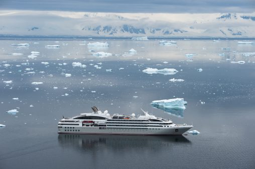 Sailing with PONANT, a leader in luxury polar expeditions, the Adventures by Disney Antarctica and Patagonia Expedition Cruise immerses families in the breathtaking, remote landscapes of the White Continent. Two departures are available, with sailings scheduled aboard Le Boreal on Dec. 21, 2021, and Le Lyrial on Jan. 31, 2022. (PONANT/Olivier Blaud, photographer)