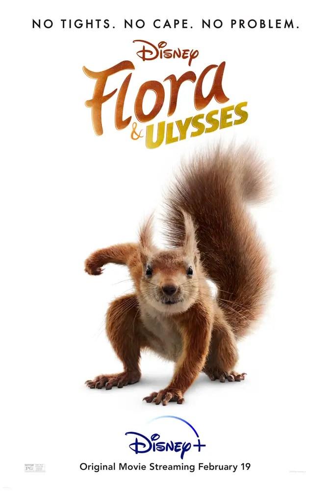 Flora & Ulysses Poster