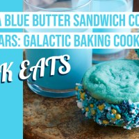 Bantha Blue Butter Sandwich Cookies - Star Wars: Galactic Baking Cookbook - GEEK EATS Recipe