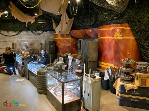 Disneyland Resort Legacy Passholder Preview of Star Wars Trading Post at Downtown Disney District-74