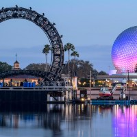 New Milestone Reached as Center Harmonious Barge is Moved into Place at EPCOT