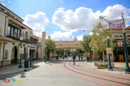 Buena Vista Street about a year after it closed
