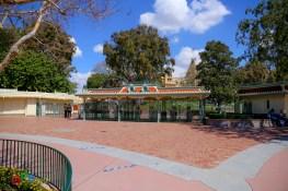 The main gate of Disneyland area
