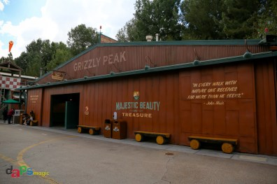 The Grizzly Peak restrooms