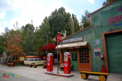 The Grizzly Peak Airfield gas station