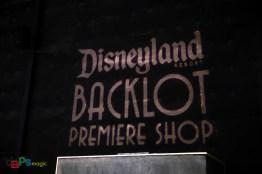 Inside the Disneyland Resort Backlot Premiere Shop in Stage 17