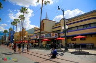 The Disney Theater, the home of Disney Junior Dance Party! when Disney California Adventure is open generally
