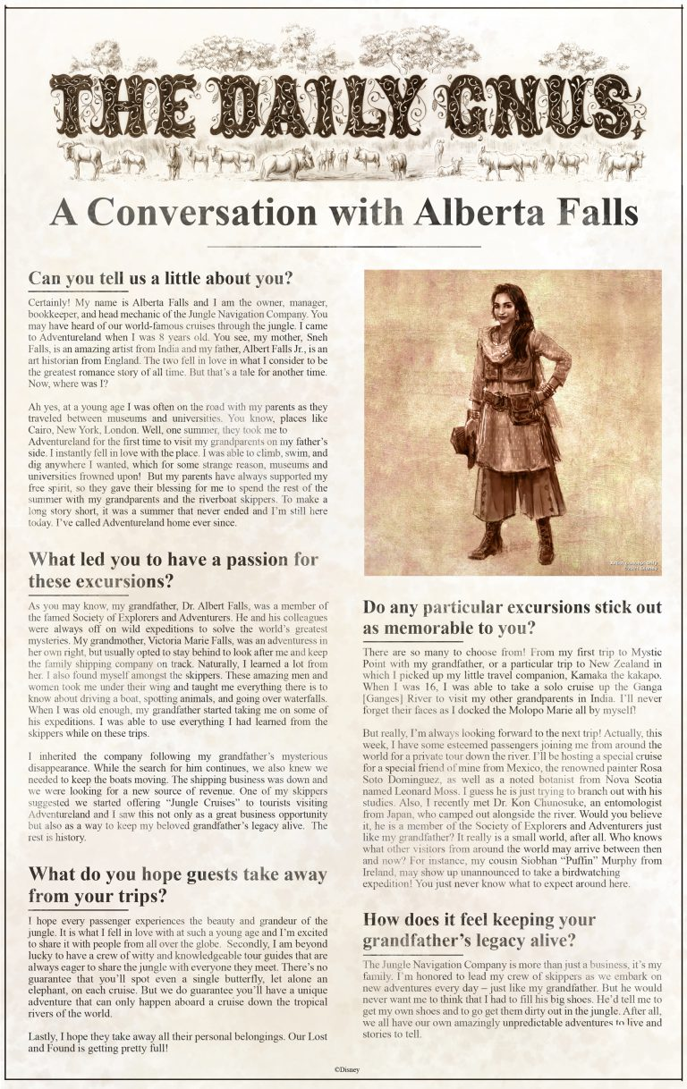 The Daily Gnus - Alberta Falls