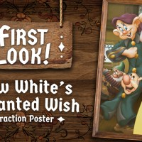 Disney Unveils Attraction Poster for Snow White's Enchanted Wish at Disneyland