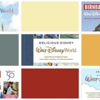 Disney Announces New Books Ahead of Walt Disney World Resort's 50th-Anniversary Celebration