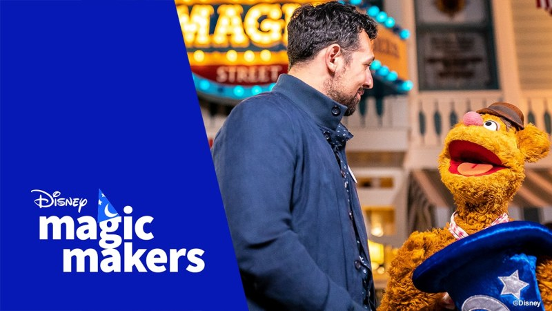 Disney Magic Maker Nomination of Fozzie Bear