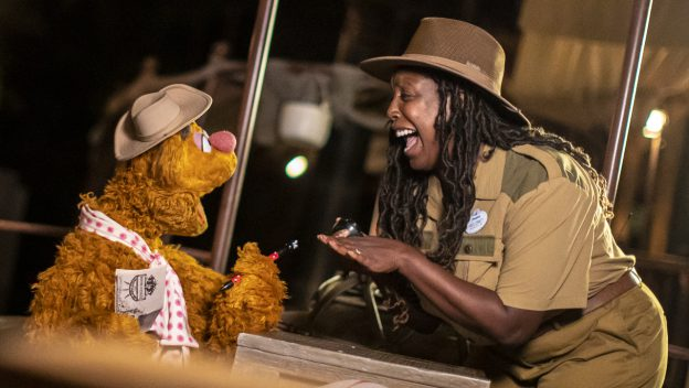 Fozzie Bear on The World Famous Jungle Cruise