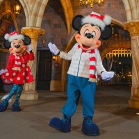 Mickey and Minnie Debut New Festive Fashion Ahead of Holidays at Disneyland Resort Along With New Holiday Merchandise