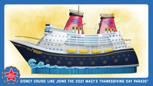Magic Meets the Sea - Disney Cruise Line Float in Macy's Thanksgiving Day Parade
